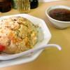 上海 - 料理写真:チャーハン スープ