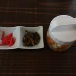 麺 dining だいふく - 薬味