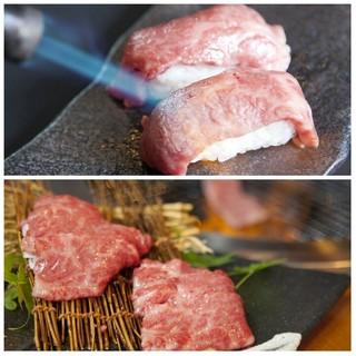 大人気☆数量限定!山形牛、炙りハネシタ寿司や炙りヒウチ