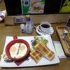 白ヤギ珈琲店 - 料理写真:白ヤギモーニング580円