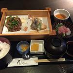 花かぐら - 牛フィレステーキと和御膳¥1450