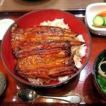 姫沙羅 - 上うな丼¥3200