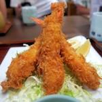 姫沙羅 - 海老フライ定食¥2100