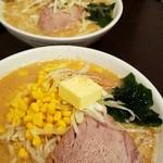円山 - 味噌らーめんと手間が味噌バターコーンらーめん 2016.8