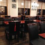 麻布茶房 - 和の雰囲気
