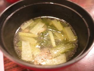 かんだ光壽 - お通しセット 8種盛り クラゲと青菜のお椀