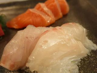 かんだ光壽 - 本日の刺身 5点盛り 鯛