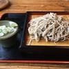 長沢茶屋 - 料理写真:もりそば(並盛り)750円