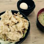 伝説のすた丼屋 - 生姜丼 630円