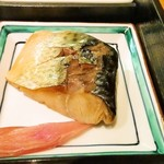 石和川 - 煮魚(鯖)