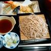 花月亭 - 料理写真:[料理] 天付せいろ¥1,200+消費税 セット全景♪w