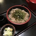佐久の草笛 - ざる蕎麦('16/08/28)