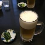 佐久の草笛 - まずは生ビール('16/08/28)