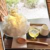 抹茶庵けんしん - 料理写真:かき氷 File No103『ハチミツレモン氷』