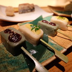 茶茶花 - 生麩の味噌田楽(950円)
