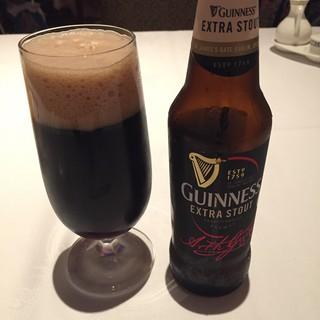 シルクロードガーデン - ドリンク写真:ギネス黒ビール、好きです。