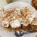 アロマ 珈琲 - 料理写真:シナモントースト