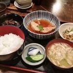三亀勢 - 「キンメ or 子持ちかれい煮付 (900円)」