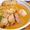 はりけんラーメン - 料理写真:鶏そば 塩+特製トッピング 750+250円 洋風テイストな鶏の旨味がたまりませぬ。