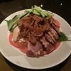 大観苑 - 料理写真:蒸し鶏の冷菜ごまソース掛け