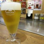 55347437 - グラス生ビール 280円