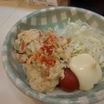 福多寅らあめん - 料理写真:自家製ポテトサラダ