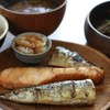 焼き魚3種盛り定食