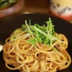 ネマルカフェ - ウニのクリームスパゲティ