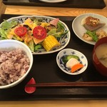 トモキッチン - ランチ2:鯖の唐揚げ  2016/08/20