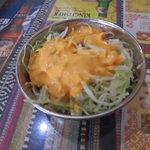 インドネパール料理 ラージャ - 料理写真:Bセット1134円のサラダ