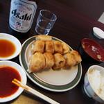 第7ギョーザの店 - ホワイト餃子定食 \740-