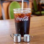 カフェレスト テンセブン - 食後のアイスコーヒー