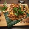 バーンタイ - 料理写真:お米麺のタイ焼きそば