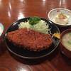 居酒屋まるやま - 料理写真:ロースカツ定食1000円