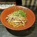 汁なし - 「汁なし担々麺 (超辛)」700円税込