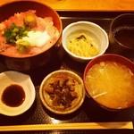 銀座ひかり - ネギトロ丼