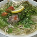 アジア屋台FO - 牛肉と野菜のフォー