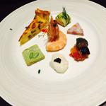 ペスカ - 前菜の盛り合わせ