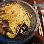 Restaurant AKIOKA - パスタランチ(天塩大シジミとブロッコリーのペペロンチーノ スパゲティーニ(辛ナシ)1,400円