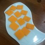 喜楽 - ミモレットチーズ:300円