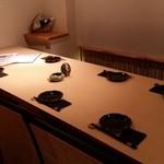八馬 - テーブル席
