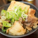 秋元屋 - 煮込み(380円)