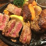 STEAK&HUMBURG ひげ - 荒挽きハンバーグ&和牛ステーキ