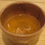 萬御菓子誂處 樫舎 - 番茶