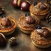 焼きたてチーズタルト専門店 PABLO mini - 料理写真:9/1(木)より季節限定パブロミニ‐とろけるモンブラン