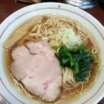 煮干中華そば鈴蘭 - 淡麗アゴ出汁煮干しそば  780円
