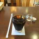 桜ん房 - アイスコーヒー、食事とセットで¥150( '16.08)