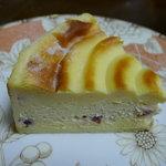 ブルー チューリップ - クランベリーと木いちごのチーズケーキ(\399-)