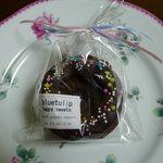 ブルー チューリップ - ドーナツクッキー(\210-)