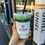 ユニスタンド - アイス宇治抹茶オレ ¥510(期間限定価格)